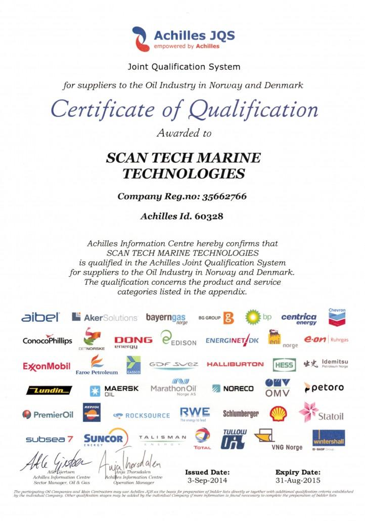Certifikat Archilles