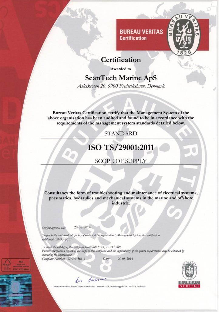 ISO TS29001